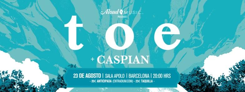 ¡TOE en Barcelona!