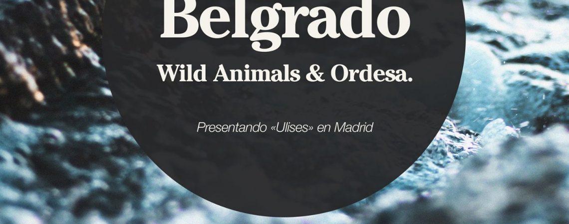 """Viva Belgrado presentan """"Ulises"""" en Madrid"""