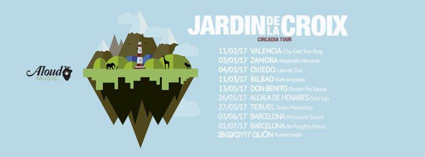 Jardín de la Croix anuncia primeras fechas de presentación de Circadia