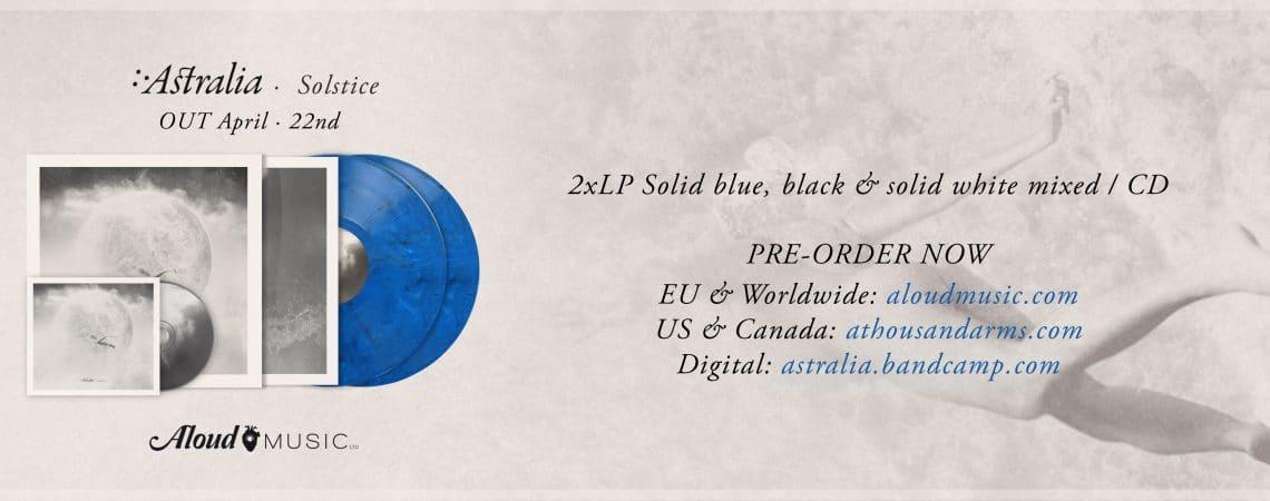 """Abierto el pre-order de """"Solstice"""", nuevo disco de Astralia"""