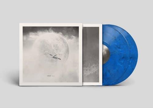 Solstice Vinyl MockUp_Blue2_Solid blue, black & solid white mixed